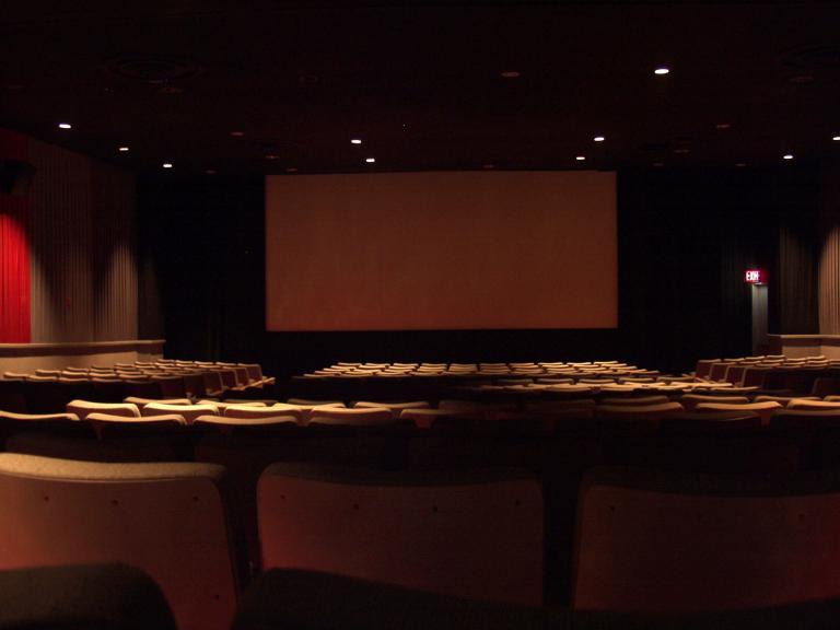 Photo illustrative d'une salle de cinema