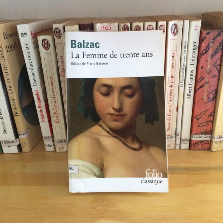 Couverture du roman de Balzac : La femme de trente ans