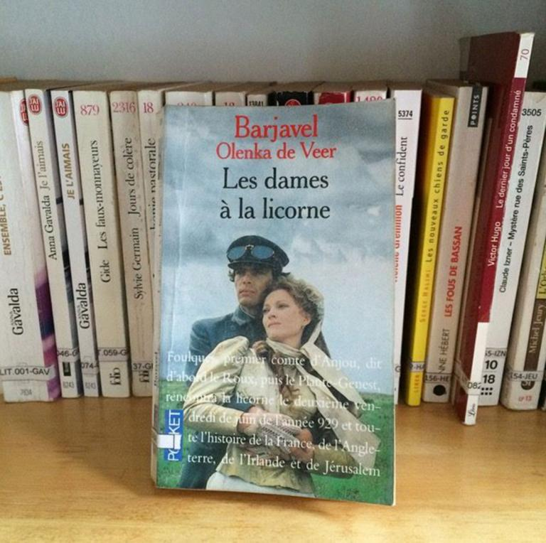 """""""Les dames à la licorne"""", René Barjavel"""