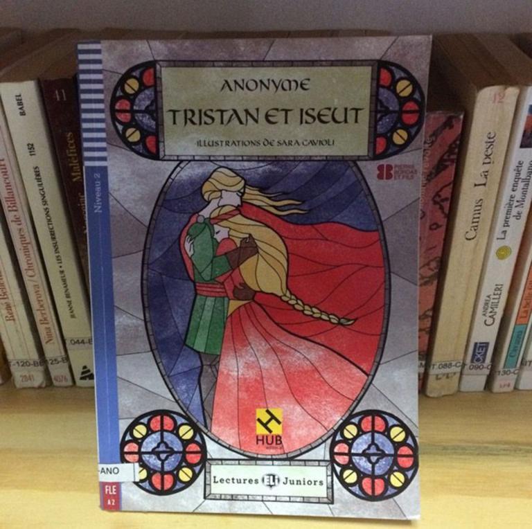 """Photo du livre """"Tristan et Iseut"""""""