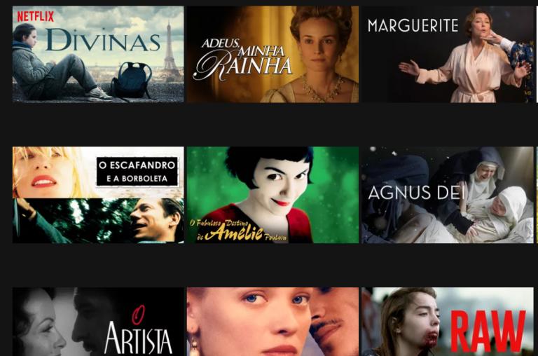 Films français disponibles sur Netflix
